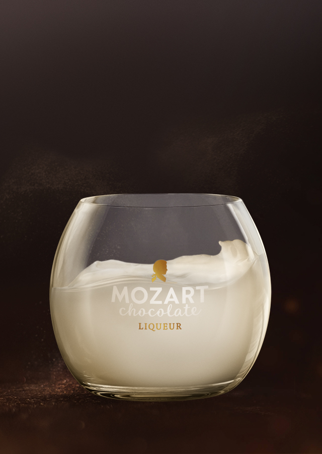 Mozart Chocolate White Tumbler
