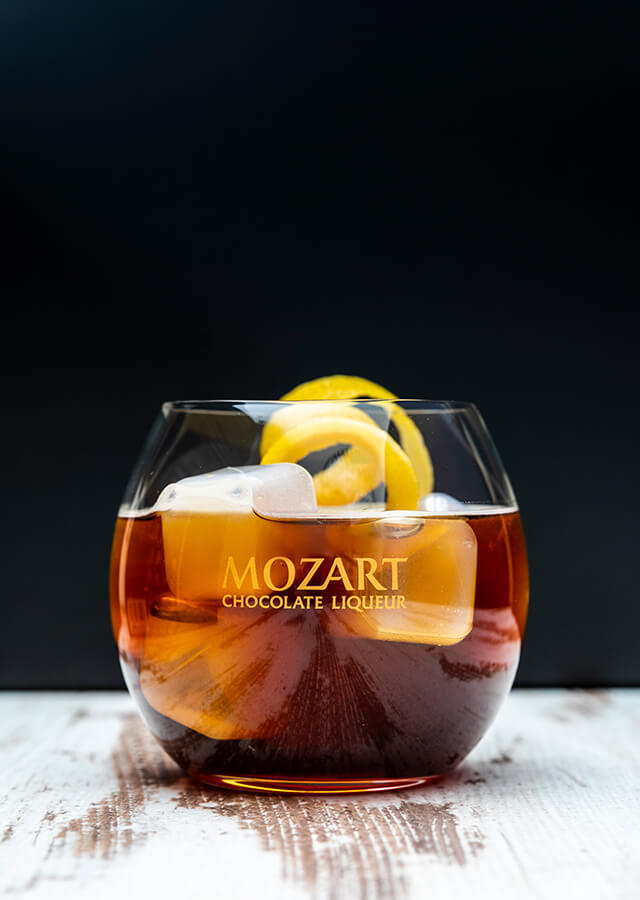Mozart Dark Chocolate Espresso Highball