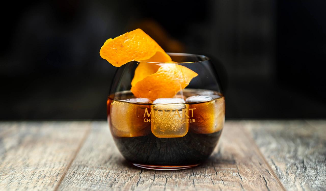Mozart Dark Chocolate Old Fashioned